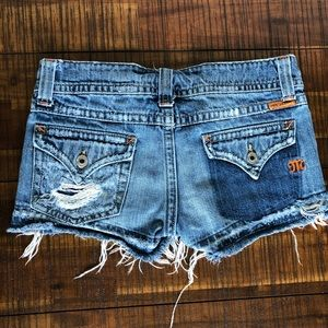 Miss Me Distressed Shorts -size 26